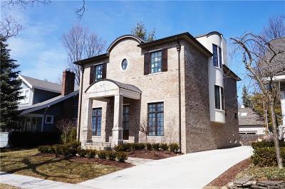 Birmingham Single Family Home For Sale: 580 W Frank Street