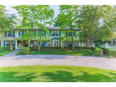Bloomfield Hills, Bloomfield Twp Single Family Home For Sale: 2243 Tottenham Road