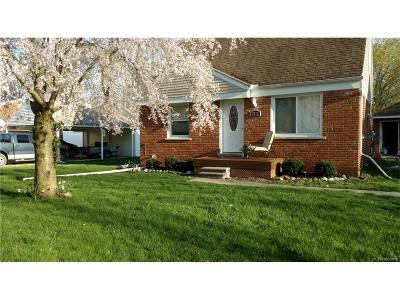 Sterling Heights Single Family Home For Sale: 5478 Kreger Street
