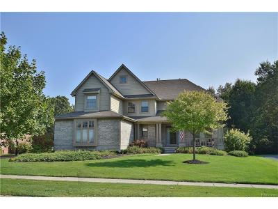 City Of The Vlg Of Clarkston, Clarkston, Independence, Independence Twp Single Family Home For Sale: 4816 Eagle Springs Court