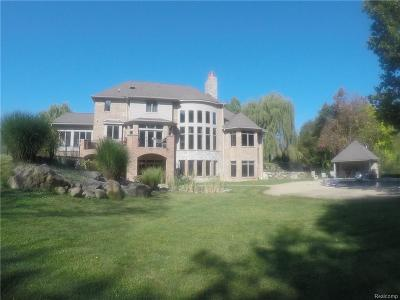 City Of The Vlg Of Clarkston, Clarkston, Independence, Independence Twp Single Family Home For Sale: 9242 Allen Road