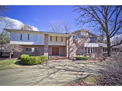 Bloomfield Twp Single Family Home For Sale: 1228 Stuyvessant Road