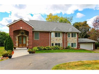 West Bloomfield, West Bloomfield Twp Single Family Home For Sale: 3085 Woodland Ridge Drive