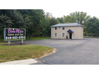Clarkston, Independence Twp, Springfield Twp Commercial Lease For Lease: 9474 Dixie Highway #B