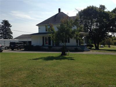 Lapeer County Single Family Home For Sale: 130 Rule Rd