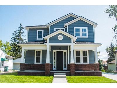 Berkley Single Family Home For Sale: 2994 Wakefield Road
