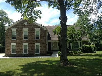 Bloomfield, Bloomfield Hills, Bloomfield Twp, West Bloomfield, West Bloomfield Twp Single Family Home For Sale: 4250 Barcroft Way