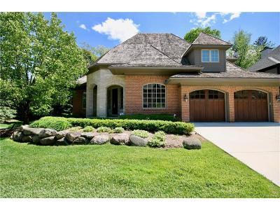 Bloomfield, Bloomfield Hills, Bloomfield Twp, West Bloomfield, West Bloomfield Twp Condo/Townhouse For Sale: 30 Cranbrook Lane