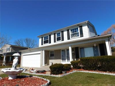 Sterling Heights Single Family Home For Sale: 4053 Bieber Drive Drive
