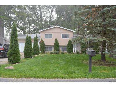 Bloomfield, Bloomfield Hills, Bloomfield Twp, West Bloomfield, West Bloomfield Twp Single Family Home For Sale: 1735 Rosedale Street