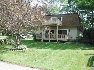 Waterford, Waterford Twp Single Family Home For Sale: 3380 Coventry Drive