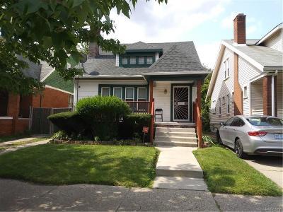 Detroit Single Family Home For Sale: 12779 Cloverlawn Street