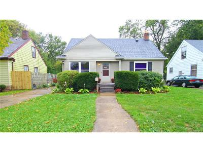 Southfield Single Family Home For Sale: 28527 Everett Street