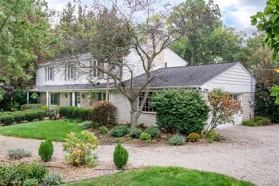 Bingham Farms Vlg Single Family Home For Sale: 32100 Bingham Road