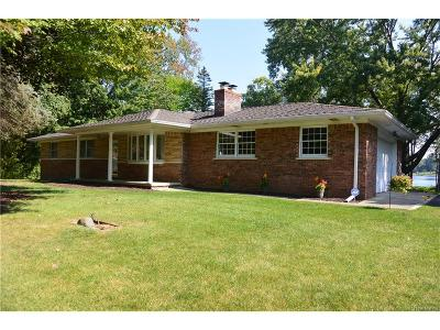Brighton Single Family Home For Sale: 7617 Brookview Drive
