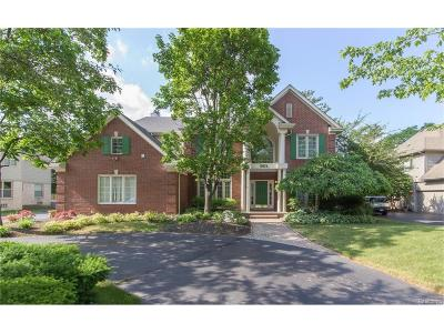 Bloomfield, Bloomfield Hills, Bloomfield Twp, West Bloomfield, West Bloomfield Twp Single Family Home For Sale: 5874 Orchard Woods Drive
