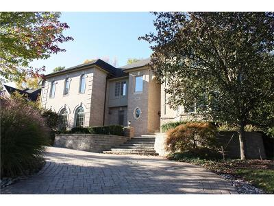 West Bloomfield Twp Single Family Home For Sale: 6632 Minnow Pond Drive
