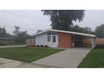 Southfield Single Family Home For Sale: 29417 Fairfax St Street