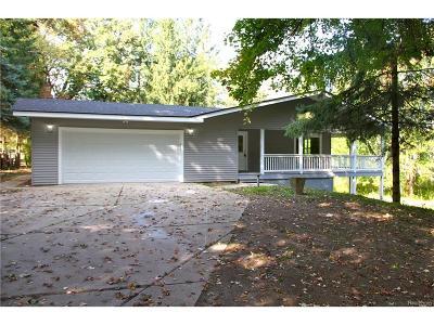 White Lake Single Family Home For Sale: 10580 Oakford Drive