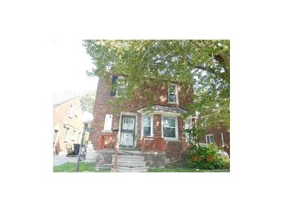 Detroit Single Family Home For Sale: 10717 E Outer Drive
