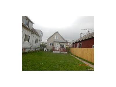 Hamtramck Single Family Home For Sale: 12008 Charest Street