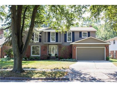 Royal Oak Single Family Home For Sale: 3102 Vinsetta Boulevard
