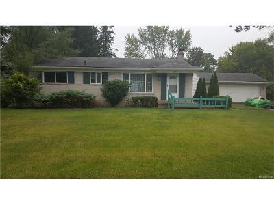 Southfield Single Family Home For Sale: 22491 Civic Center