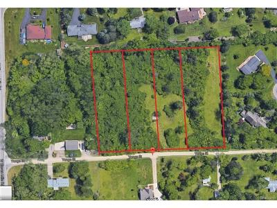 Farmington Hills MI Residential Lots & Land For Sale: $180,000