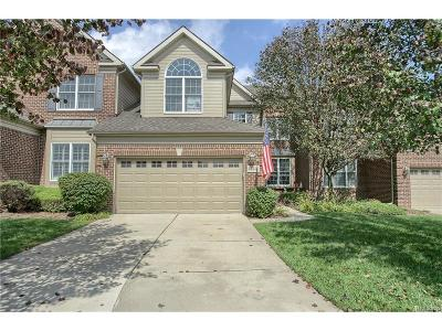 Northville Twp Condo/Townhouse For Sale: 44486 Broadmoor