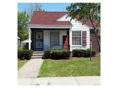 Detroit Single Family Home For Sale: 8482 Warwick Street