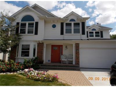 Novi Single Family Home For Sale: 24232 Scarlet Court