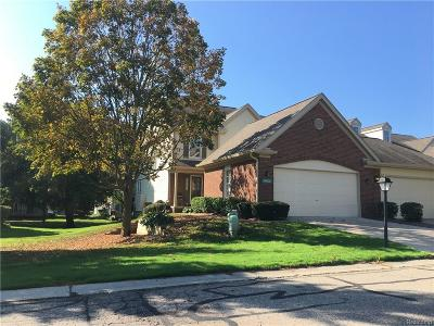 Northville Twp Condo/Townhouse For Sale: 39820 Glenview Court