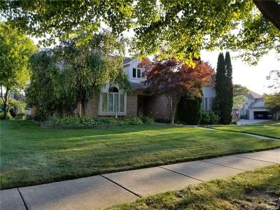 Troy Single Family Home For Sale: 2346 Erickson Drive