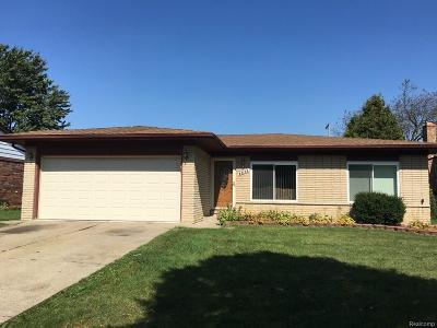 Sterling Heights Single Family Home For Sale: 3801 Franklin Park Drive