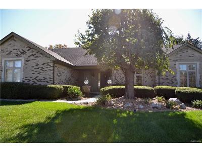 Troy Single Family Home For Sale: 1277 Barton Way Drive
