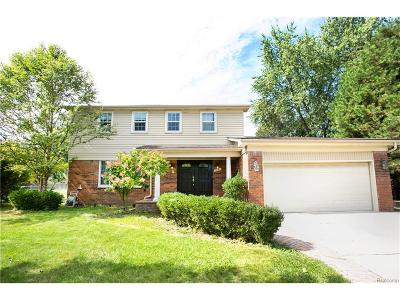 Troy Single Family Home For Sale: 3847 Coolidge Highway