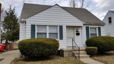 Eastpointe Single Family Home For Sale: 14789 Agnes Avenue