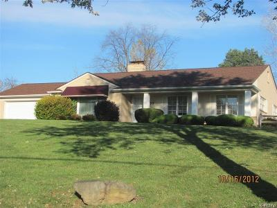 Bloomfield Twp Single Family Home For Sale: 4975 Inkster Road