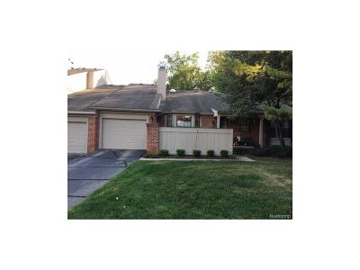 West Bloomfield, West Bloomfield Twp Condo/Townhouse For Sale: 7284 Green Farm Road