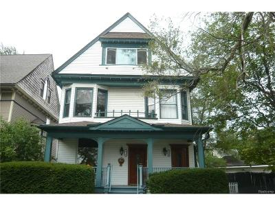 Wyandotte Single Family Home For Sale: 2116 Biddle Avenue