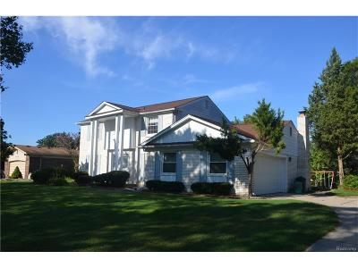 Troy Single Family Home For Sale: 5715 Whitehaven Drive