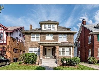 Detroit Single Family Home For Sale: 1520 Longfellow Street