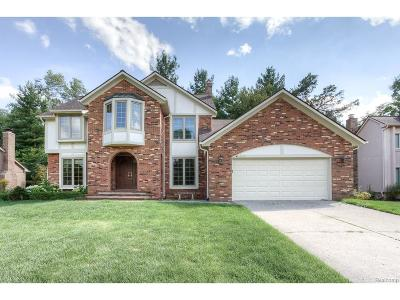 West Bloomfield Single Family Home For Sale: 6435 Odessa Drive