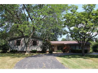 Farmington Hills Single Family Home For Sale: 38156 Southfarm Court