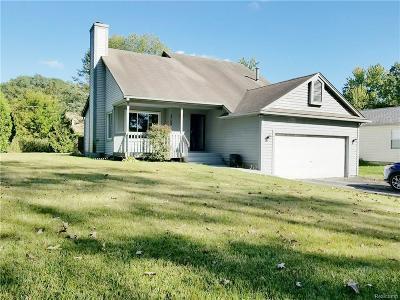 Brighton Single Family Home For Sale: 2769 School Lake