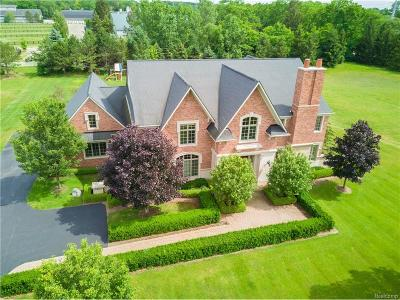Bloomfield Hills Single Family Home For Sale: 514 Chase Lane
