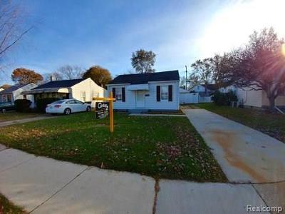 Wayne Single Family Home For Sale: 34633 Annapolis Street