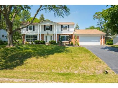 West Bloomfield Single Family Home For Sale: 5544 Abington