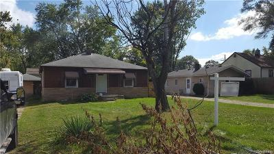 Ypsilanti Twp Single Family Home For Sale: 552 N Harris Road