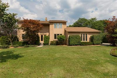West Bloomfield, West Bloomfield Twp Single Family Home For Sale: 4241 Sedgemoor Lane
